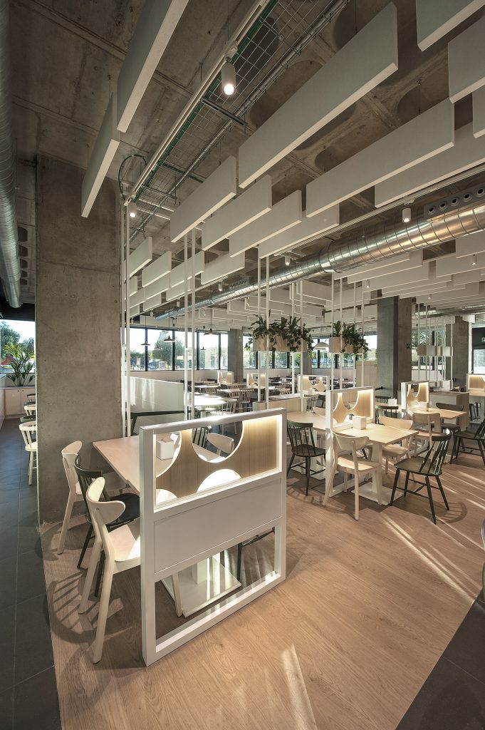 interior restaurant delicampo